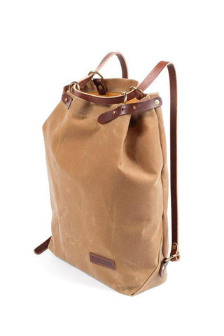 Wood&Faulk Shuttle Pack High Desert Sage