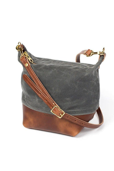 Wood&Faulk Field Bag North Coast Grey