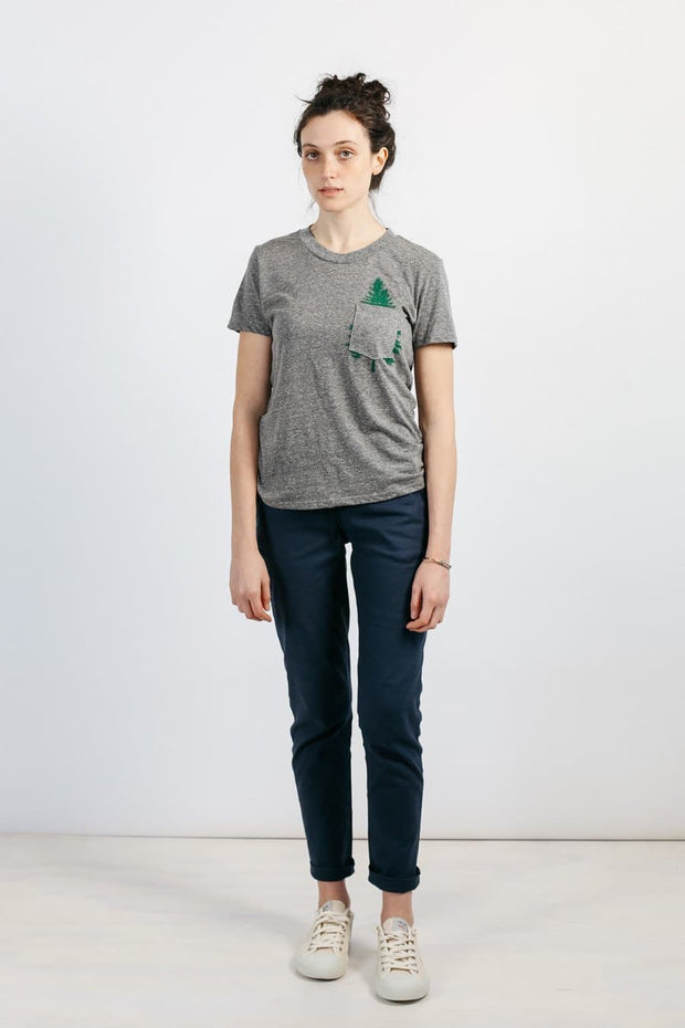 Women's Evergreen Pocket Grey