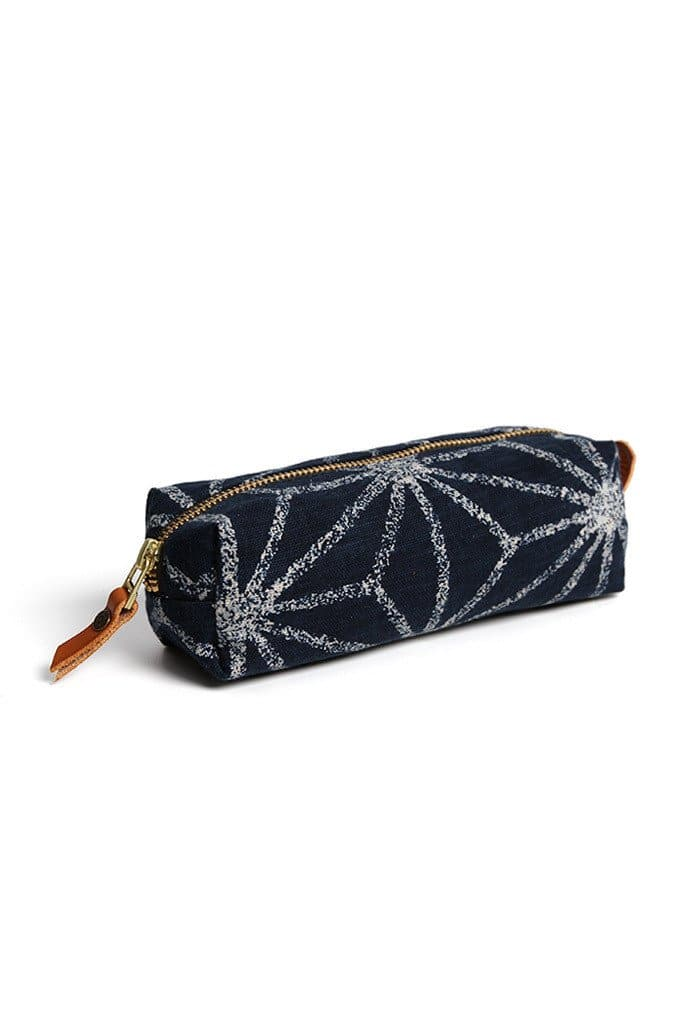 Kiriko Pencil Pouch Large Asanoha