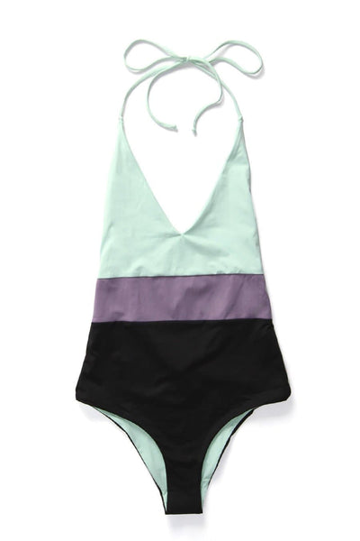Tavik Chase Reversible One-Piece Seafoam