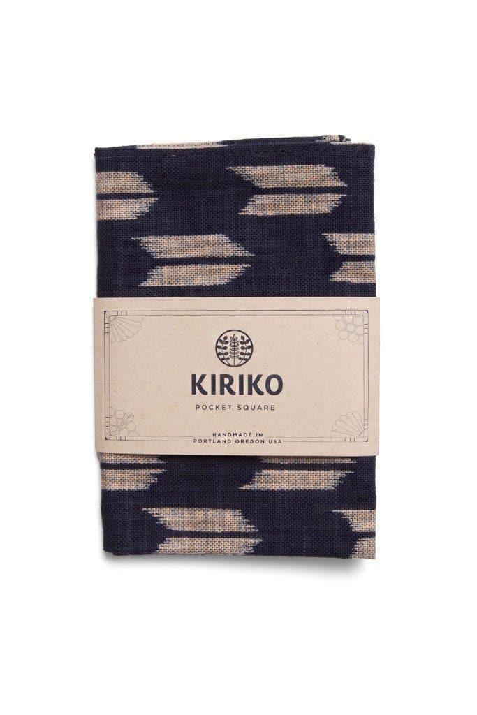 Kiriko Yagasuri Pocket Square