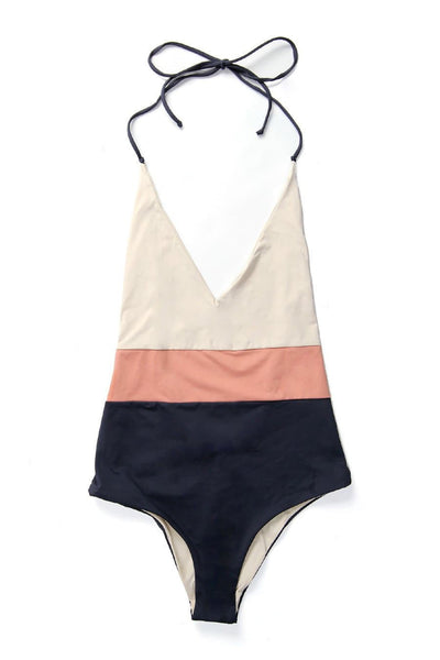 Tavik Chase Reversible One-Piece Tapioca