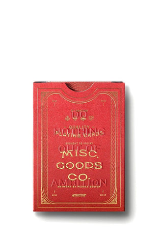 Misc Goods Co Cards Red