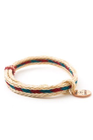 Chamula Horse Hair Woven Bracelet Natural