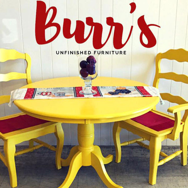 Burr's Unfinished Furniture Gift Certificate