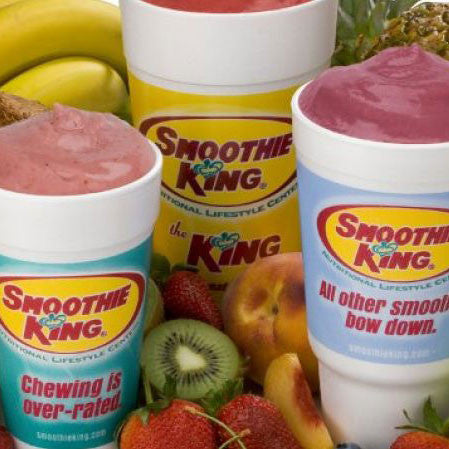 Smoothie King 20oz Smoothie Cards