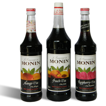 French Monin Tea Syrups