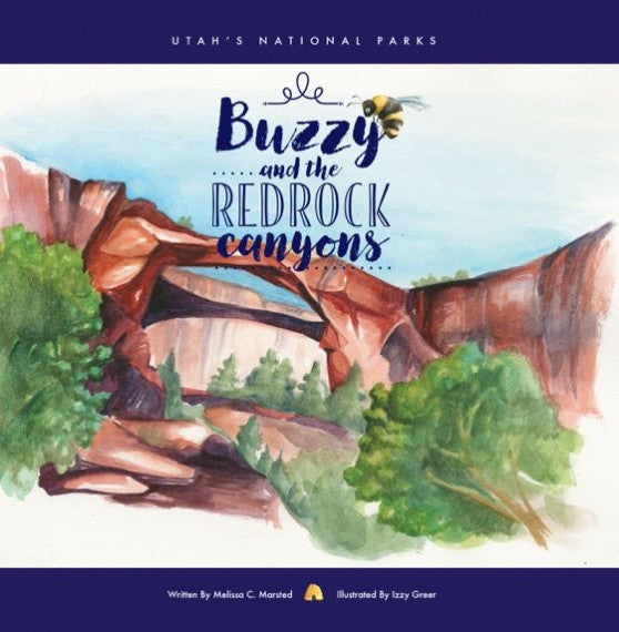 Lucky Penny Press Unveils 'Buzzy and the Red Rock Canyons,' 1st in Series Celebrating National Parks