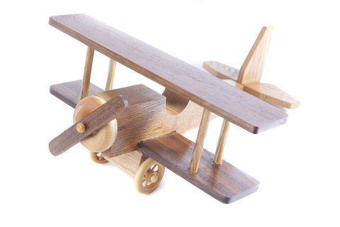Wooden Toy Plane