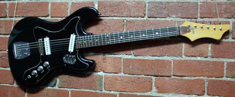 Kawai Electric Guitar Black 1967 - Guitar Emporium