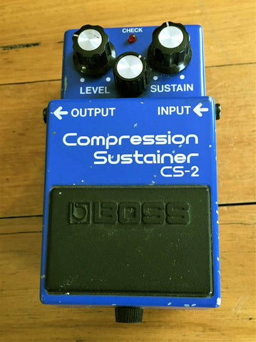 BOSS CS-2 Compression Sustainer - 1985 - Guitar Emporium