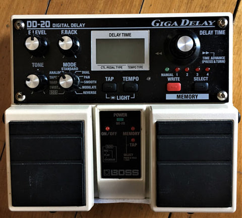 BOSS DD-20 Digital Delay Pedal - Guitar Emporium