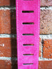 Colonial Leather Pink Double Suede Guitar Strap - Guitar Emporium