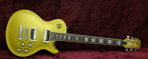Charvel Desolation Gold Sparkle 2012