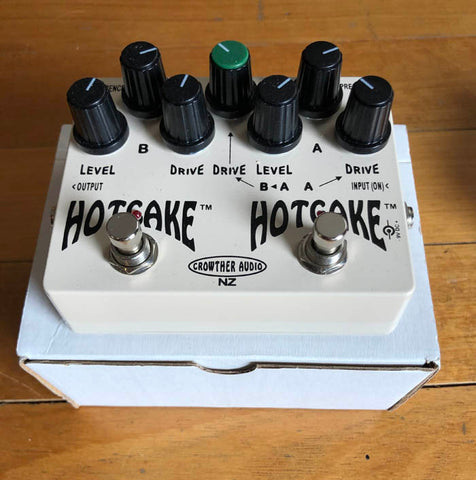 Crowther Audio Double Hotcake Overdrive Pedal