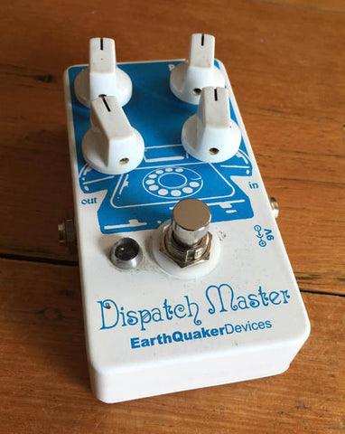 EarthQuaker Devices Dispatch Master Delay/Reverb Pedal - Guitar Emporium