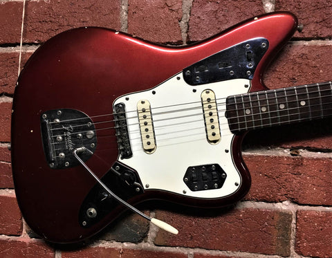 Fender Jaguar Candy Apple Red - 1965