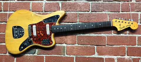 Fender Jaguar Natural Refin  -  1964