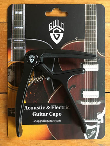 Guild Acoustic & Electric Guitar Capo - Guitar Emporium