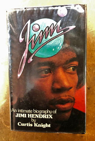 Jimi, An Intimate Biography of Jimi Hendrix, Curtis Knight, 1974