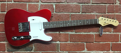 Jansen Beatmaster Candy Apple Red Reissue 2017 - Guitar Emporium