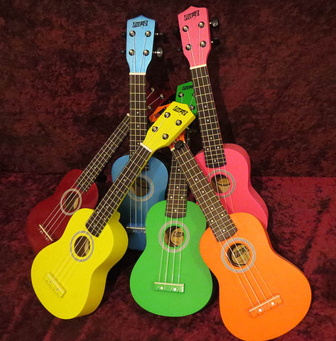 Five-O-Ukuleles in Assorted Finishes