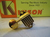 Kluson  Waffle-Back  3 -Side Tuners, Gold, Oval Metal Buttons