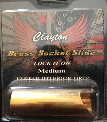 Clayton Brass Socket Slide - Guitar Emporium