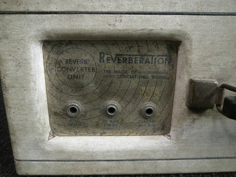 Airline Reverberation Unit 1959 - Guitar Emporium