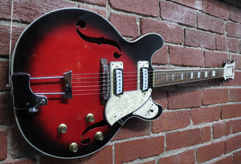 Canora 335-Style Electric Guitar 1969