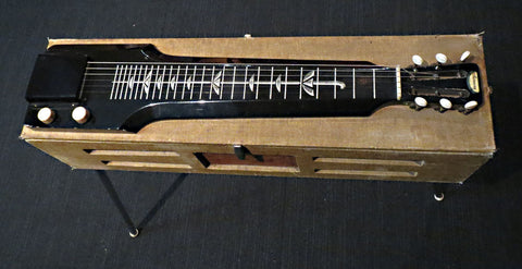 1954 Harmony Hawaiian Consolectric Lap Steel H20 w/ Built in Valve Amp