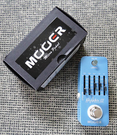 Mooer Graphic G EQ Pedal
