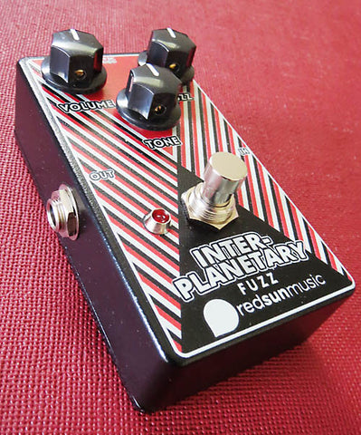 Red Sun Music Inter-Planetary Fuzz Pedal