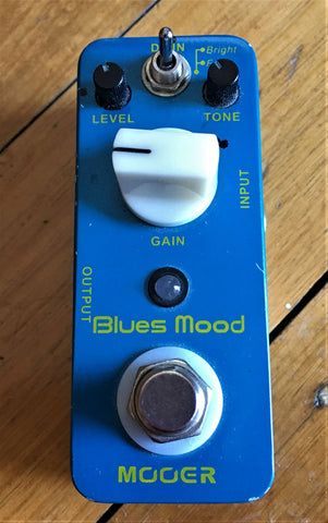 Mooer Blues Mood Pedal - Guitar Emporium