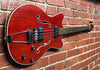 Ovation Typhoon Bass  Cherry  -  1968  -  Guitar Emporium