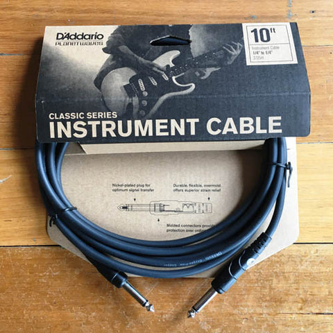 Planet Waves Instrument Guitar Lead 10 foot - Guitar Emporium