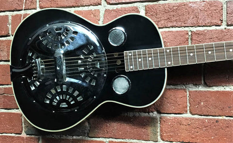 Regal Square Neck Resonator Ebony - 1995