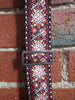 Retrovibe Series Guitar Strap 1969 Red - Guitar Emporium