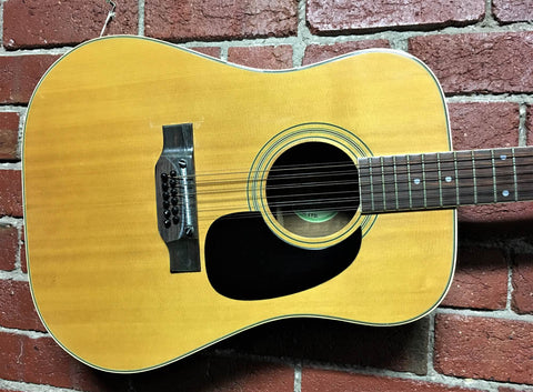 Suzuki WT-200 12 String Acoustic Guitar - 1979