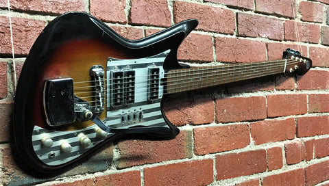 Teisco Sharkfin K-3L - 1966 - Guitar Emporium