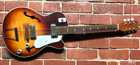"Teisco ""Super Twin"" EP-8 Hollowbody  -  1962"