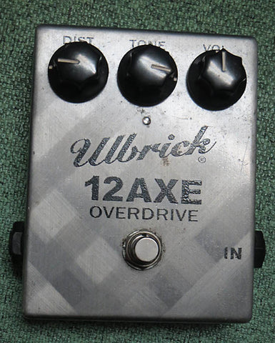 Ulbrick 12AXE Overdrive Pedal