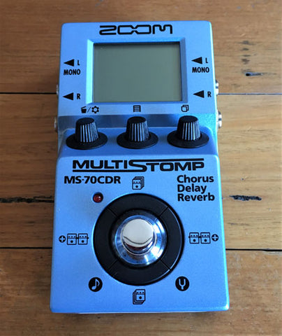 Zoom Multi - Stomp MS70CDR - Guitar Emporium