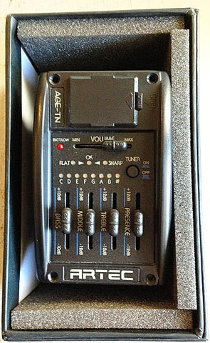 Artec Acoustic Preamp with under saddle pickup - Guitar Emporium