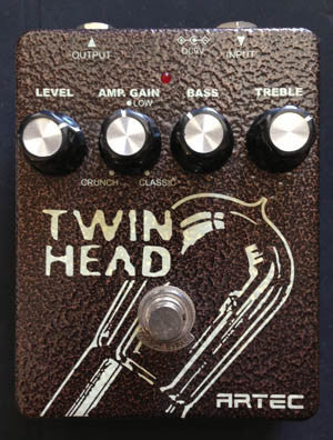 Artec Twin Head Pedal - Guitar Emporium