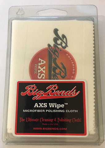 Big Bends AXS Wipe Microfiber Polishing Cloth - Guitar Emporium