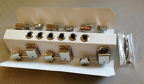 Gotoh 6 in-line tuners nickel