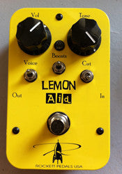 Rockett Pedals USA, Lemon Aid, clean boost pedal
