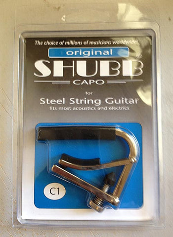 Shubb Capo for steel string guitar
